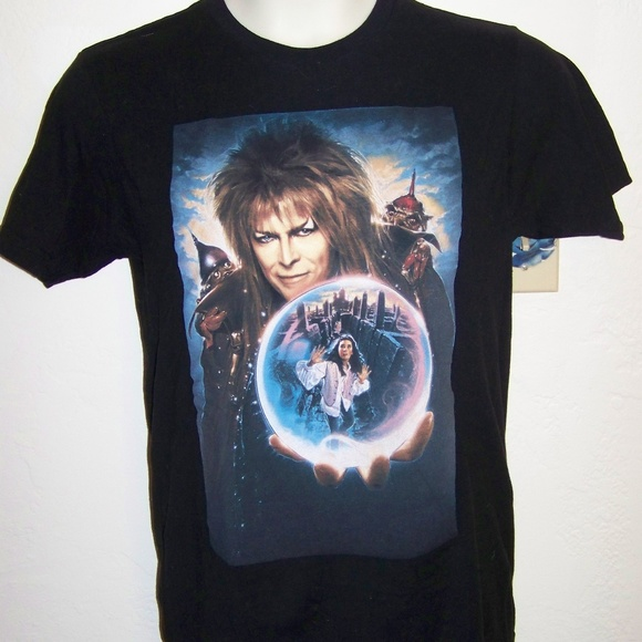df04b9f3c Jim Henson's Labyrinth Other - Jim Henson's Labyrinth David Bowie - t shirt